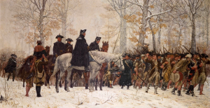 """The March to Valley Forge"" by William Trego"