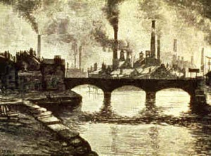 Smokestacks in the 19th Century
