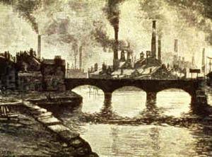 Smokestacks in the 19th Century