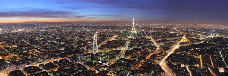 Paris at Night: View from Tour Montparnasse