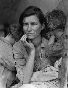 "Dorothea Lange's ""Migrant Mother"", Image by Wikipedia"
